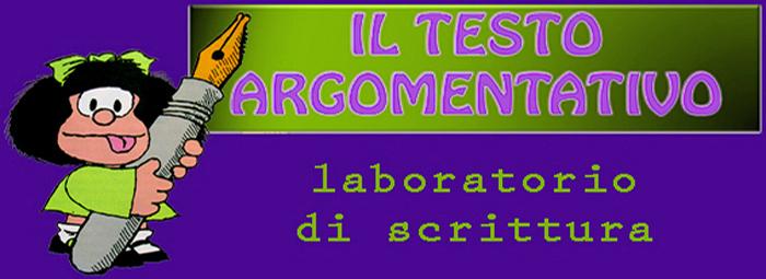immagine cover testo argomentativo